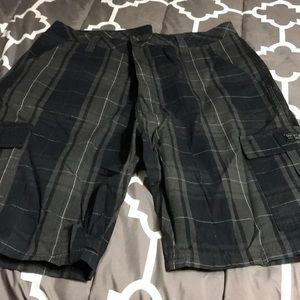 Men's wrangler cargo shorts size 36